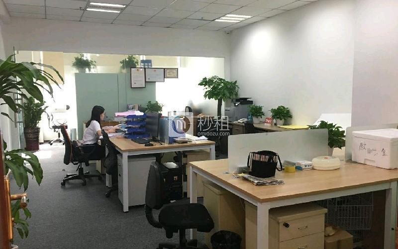 爵士大厦写字楼出租85平米精装办公室13500元/月