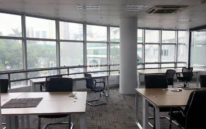 虚拟大学园写字楼出租220平米精装办公室108元/m².月
