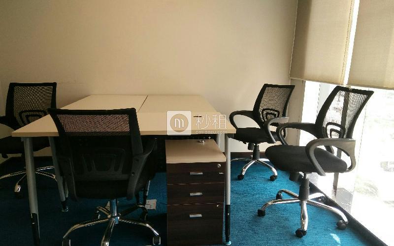 财富港国际中心写字楼出租25平米精装办公室4500元/月