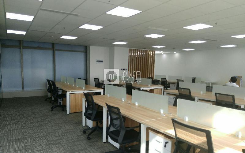 豪威科技大厦写字楼出租423平米精装办公室128元/m².月