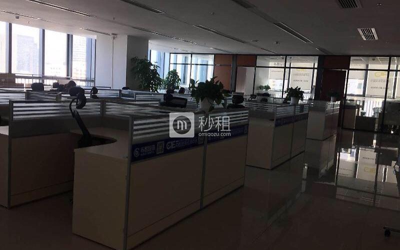 海王银河科技大厦写字楼出租758平米精装办公室150元/m².月