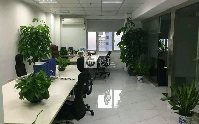 国际商业大厦写字楼出租85平米精装办公室9800元/月