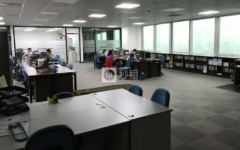 地王大厦写字楼出租198平米精装办公室210元/m².月
