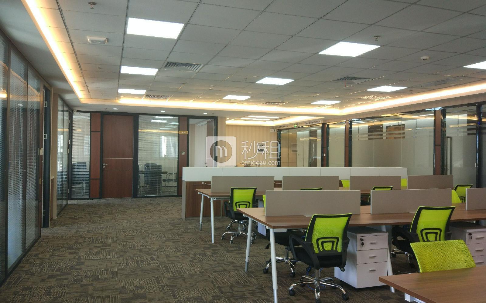 华润城大冲商务中心写字楼出租668平米豪装办公室175元/m².月