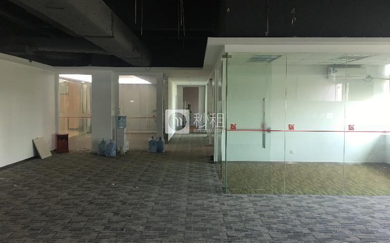 华科大厦写字楼出租256平米简装办公室80元/m².月