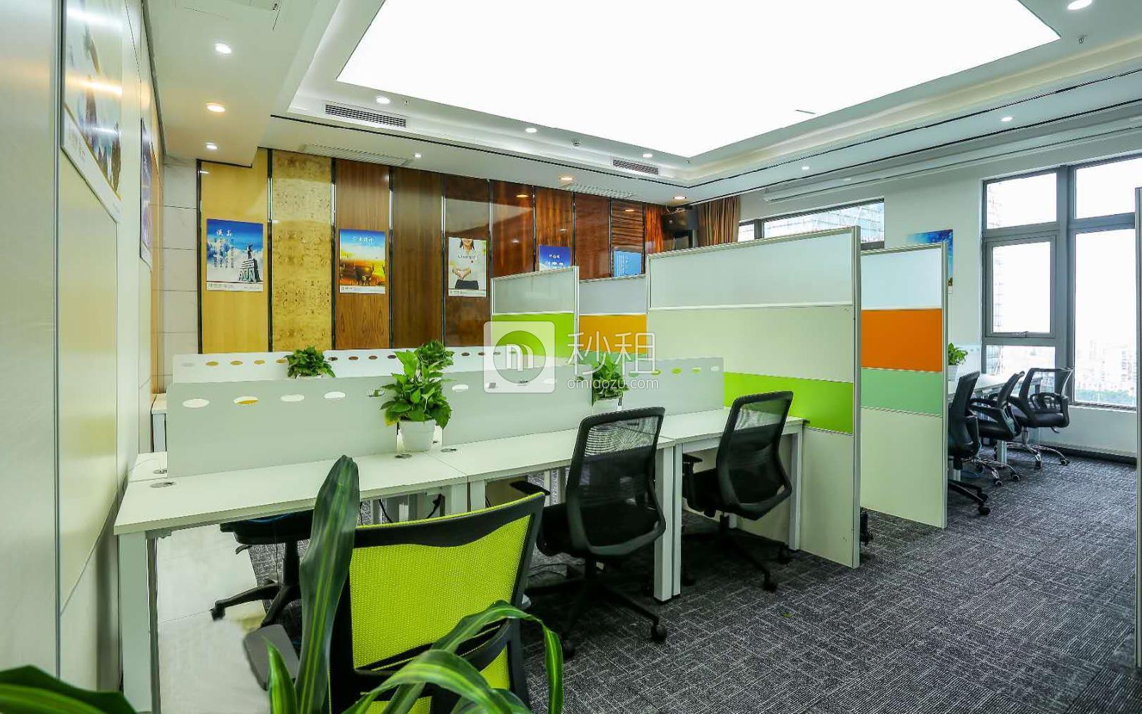 光浩国际中心-具客众创空间写字楼出租80平米精装办公室8800元/间.月