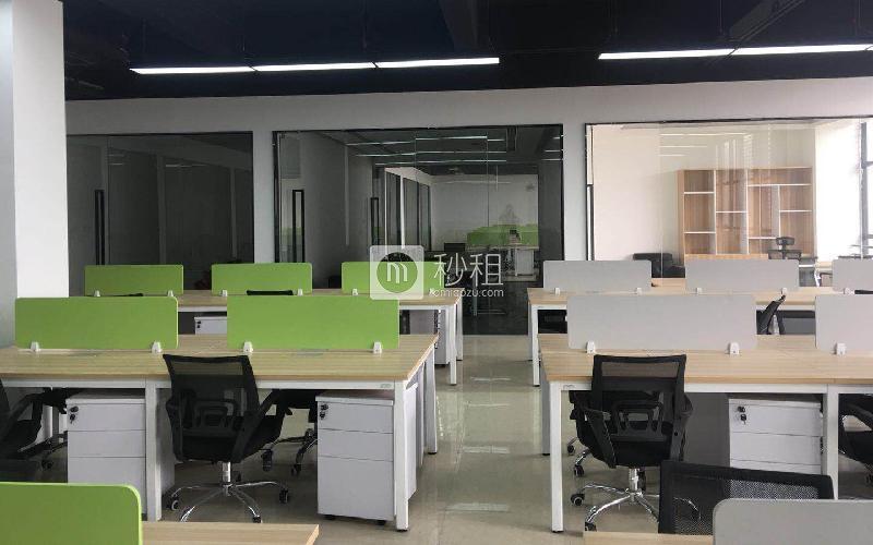 锦绣科学园写字楼出租112平米毛坯办公室45元/m².月