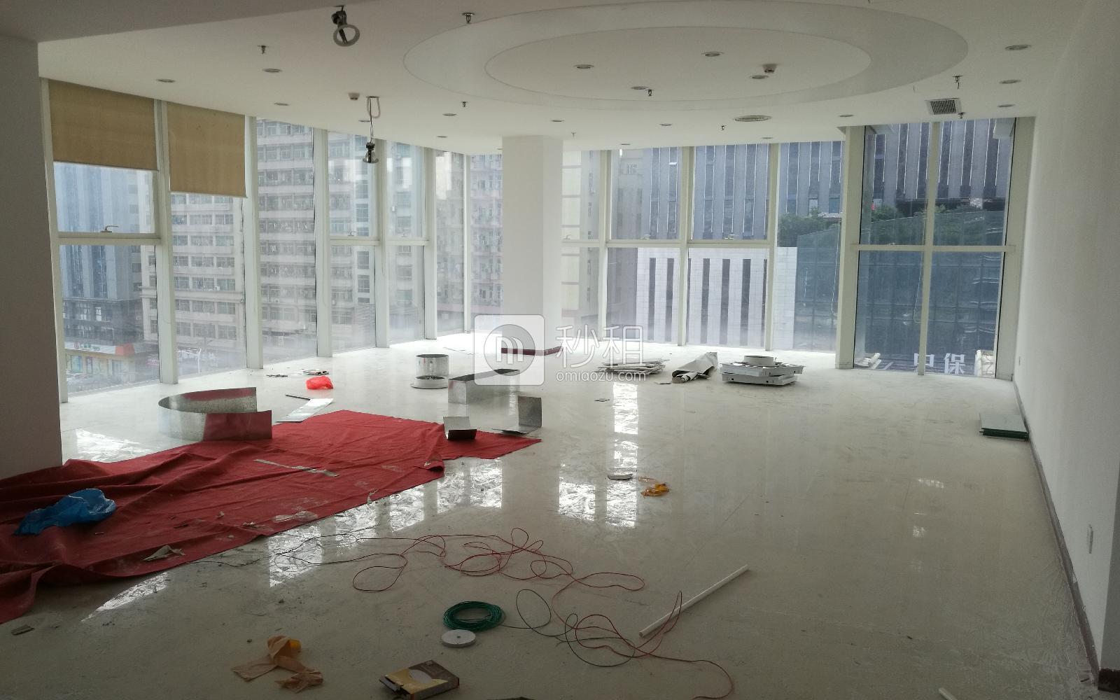 华盛大厦写字楼出租127平米精装办公室75元/m².月