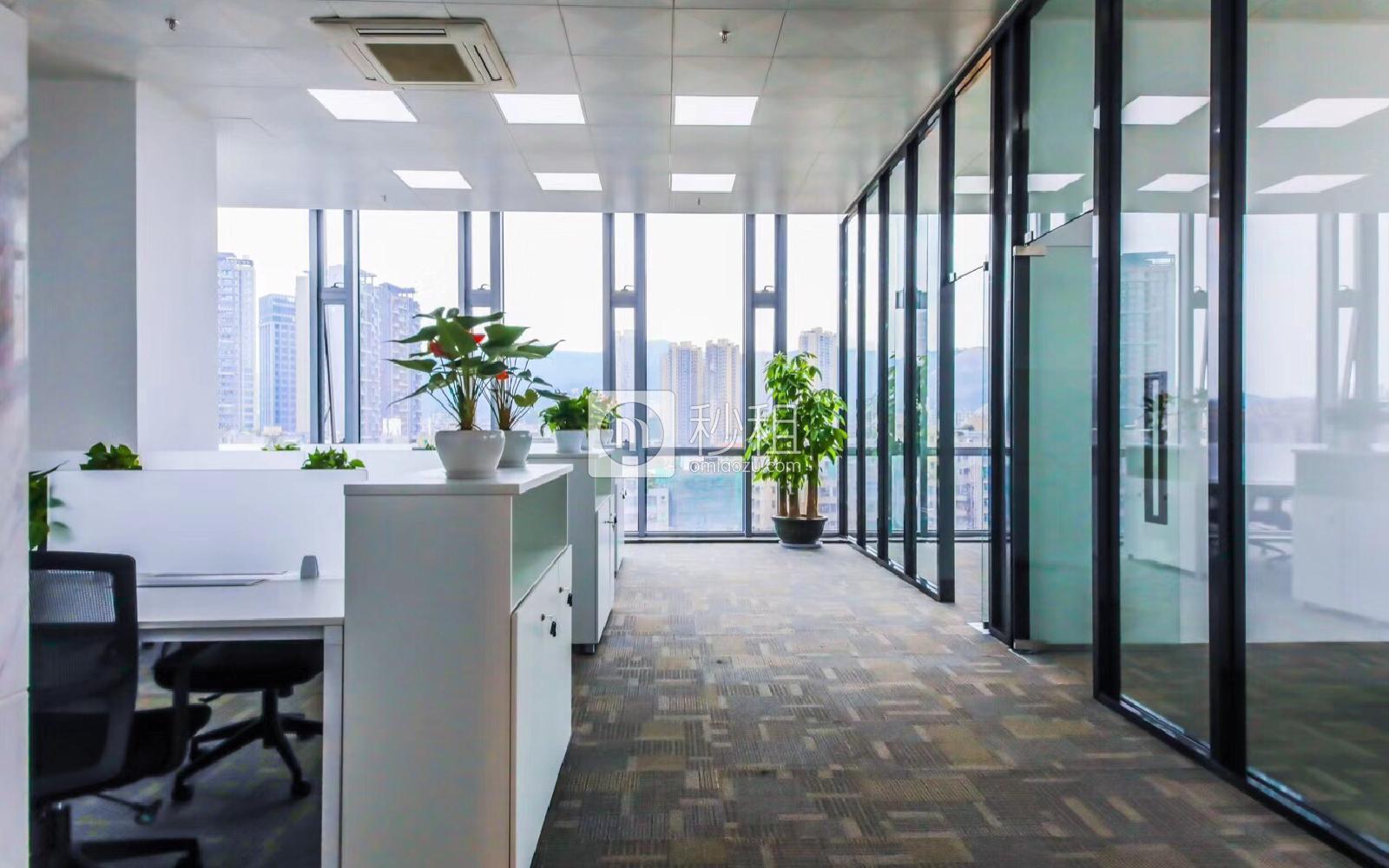 赛格ECO中心写字楼出租302平米精装办公室105元/m².月
