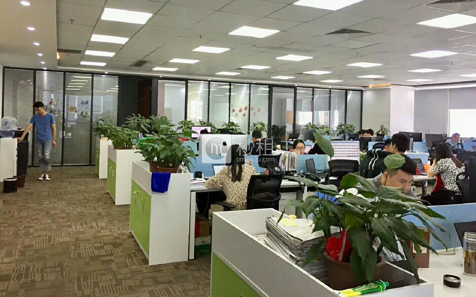 华润城大冲商务中心写字楼出租703平米豪装办公室180元/m².月