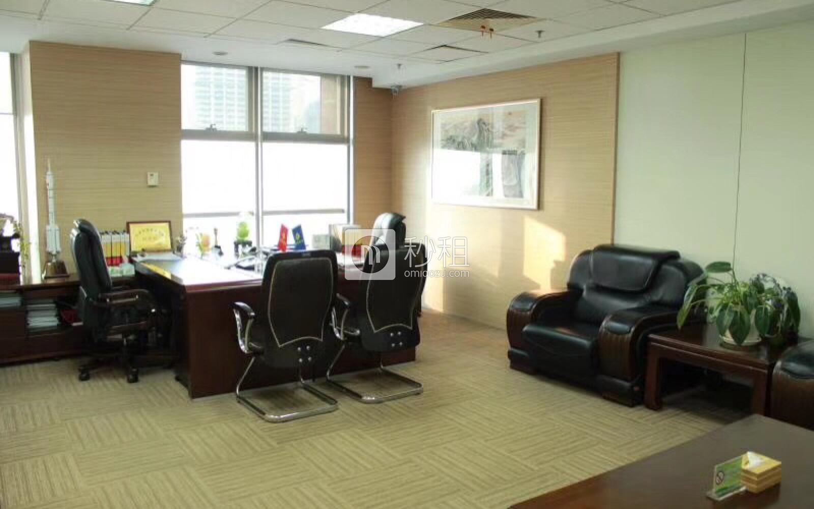 金地中心写字楼出租600平米精装办公室13元/m².天