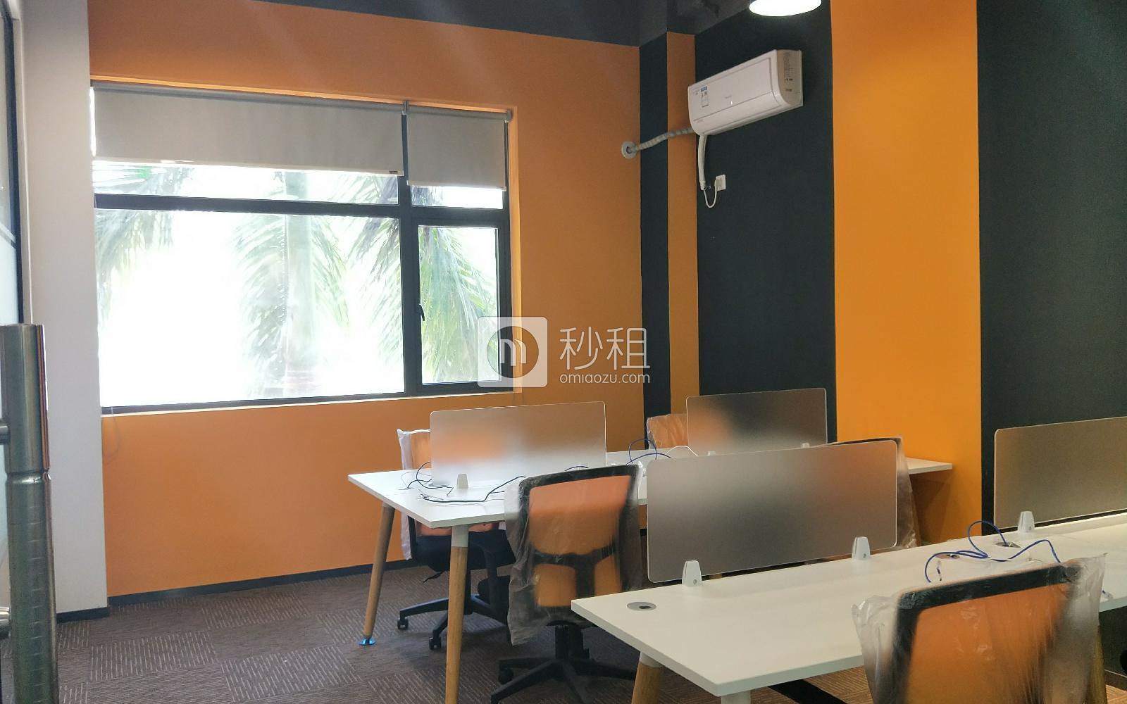 智创矩阵双创园写字楼出租80平米精装办公室7600元/月