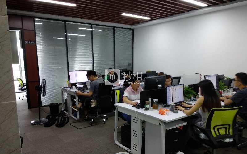 阿基米互联网公社-讯美科技广场写字楼出租218平米精装办公室145元/m².月