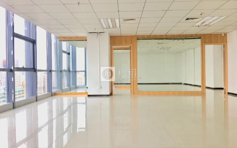 尚美中心大廈寫字樓出租347平米精裝辦公室75元/m2.月