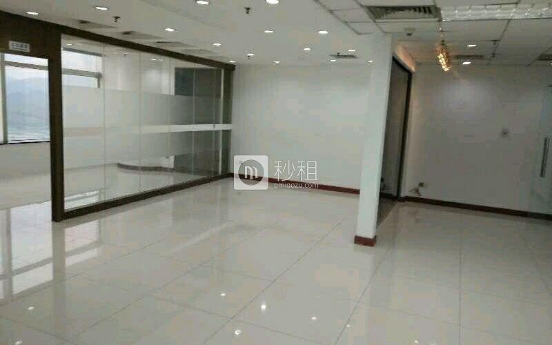 赛格广场写字楼出租153平米精装办公室110元/m².月