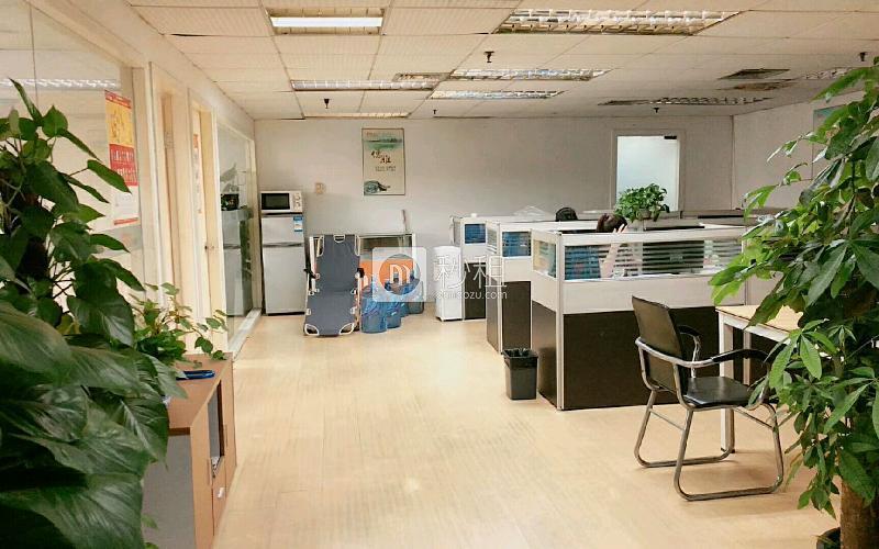 电子科技大厦写字楼出租168平米精装办公室22800元/月