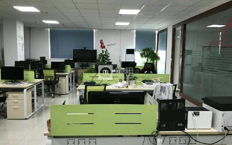 名优工业品展示采购中心写字楼出租193平米精装办公室72元/m².月