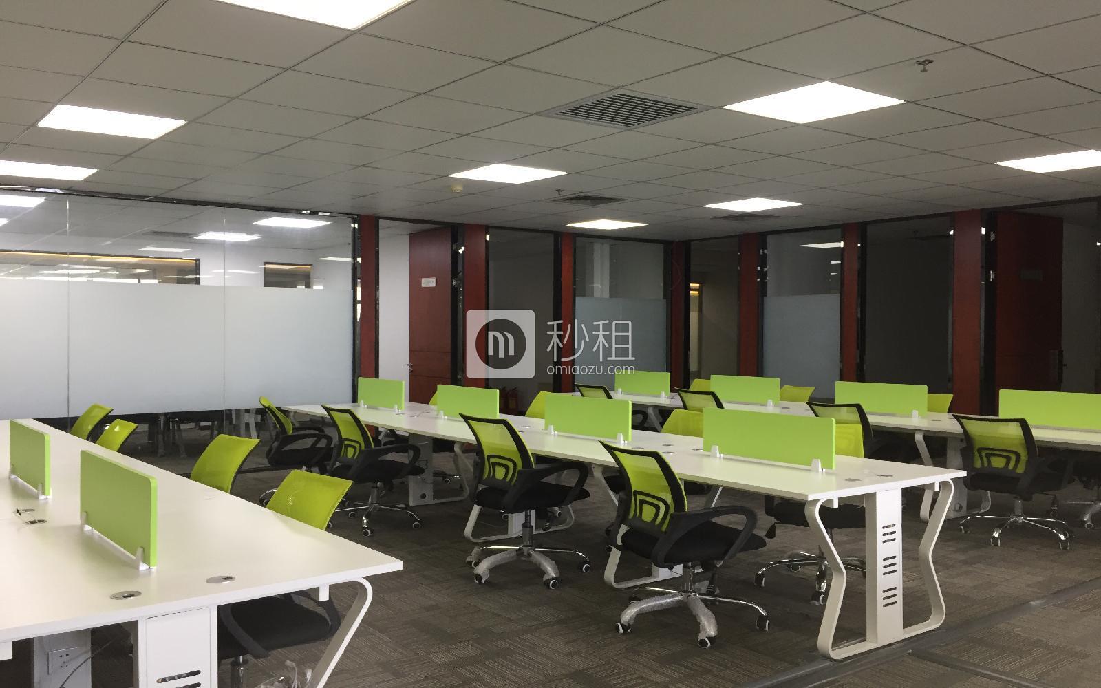 华瀚科技大厦写字楼出租652平米精装办公室75元/m².月