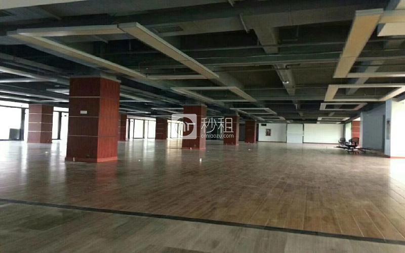 凤凰城大厦写字楼出租1088平米简装办公室75元/m².月