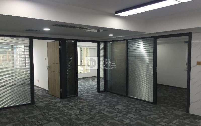 青海大厦写字楼出租138平米精装办公室70元/m².月