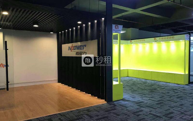 民乐科技园写字楼出租264平米简装办公室60元/m².月