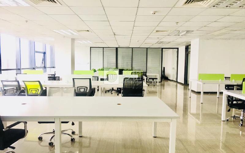 尚美中心大廈寫字樓出租507平米精裝辦公室80元/m2.月