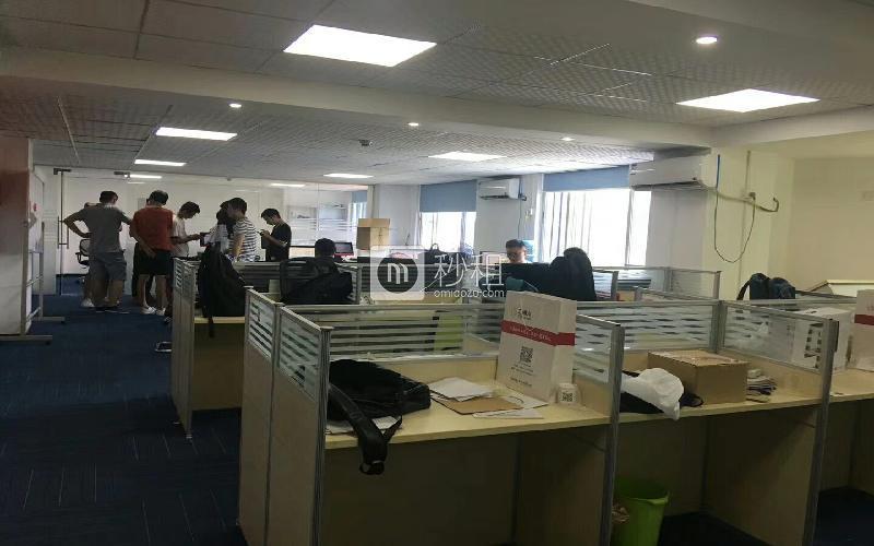 广安大厦写字楼出租231平米简装办公室62元/m².月