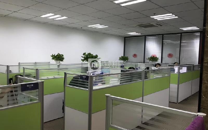 泰然科技园204栋写字楼出租228平米精装办公室95元/m².月
