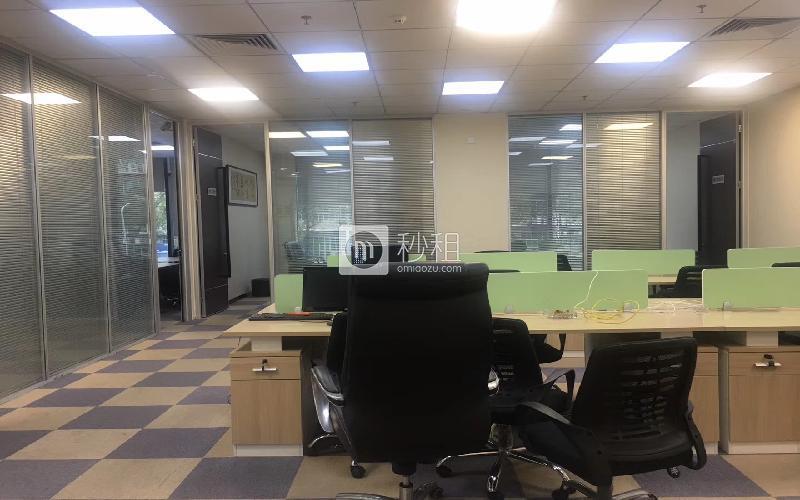 华宝一号大厦写字楼出租271平米精装办公室98元/m².月