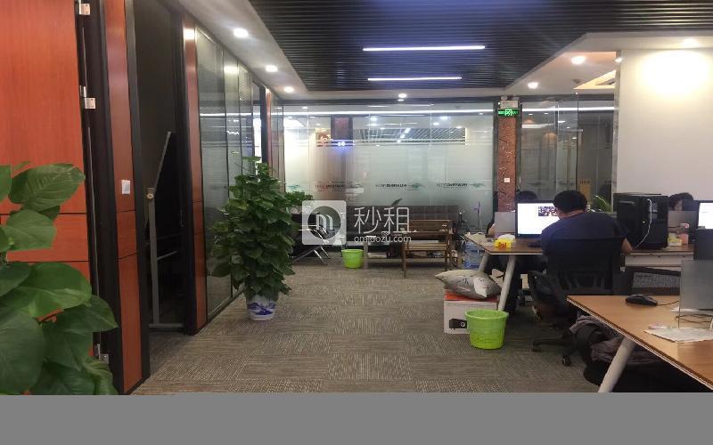 九洲电器大厦写字楼出租230平米精装办公室108元/m².月