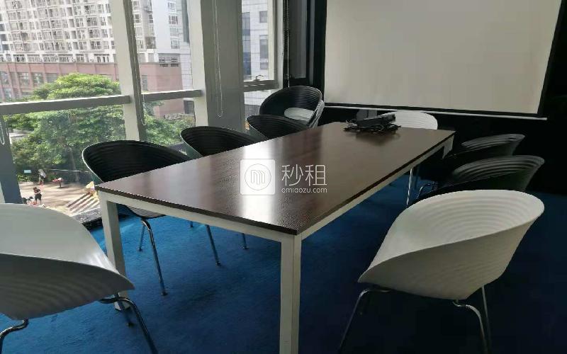 欧德威商务中心-财富港国际中心写字楼出租17平米精装办公室2500元/间.月