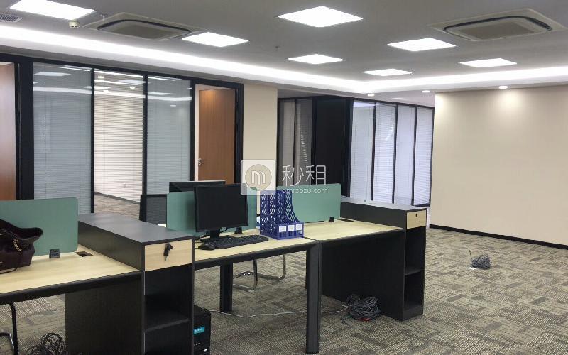 创建大厦(福田)写字楼出租435平米精装办公室150元/m².月