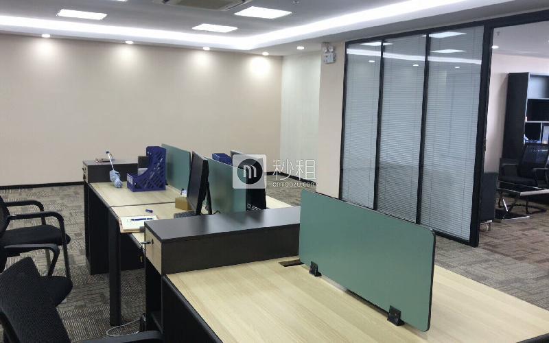 创建大厦(福田)写字楼出租350平米精装办公室168元/m².月