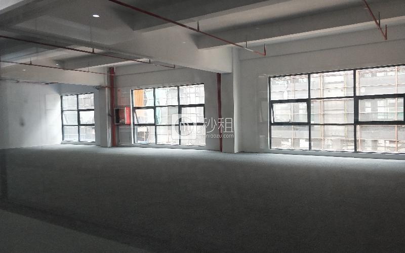 固戍影视文化产业园( 忠汇大厦)写字楼出租140平米简装办公室56元/m².月