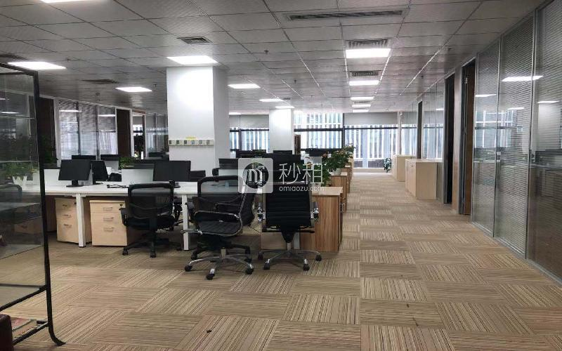 深圳湾科技生态园(二期)写字楼出租738平米精装办公室80元/m².月