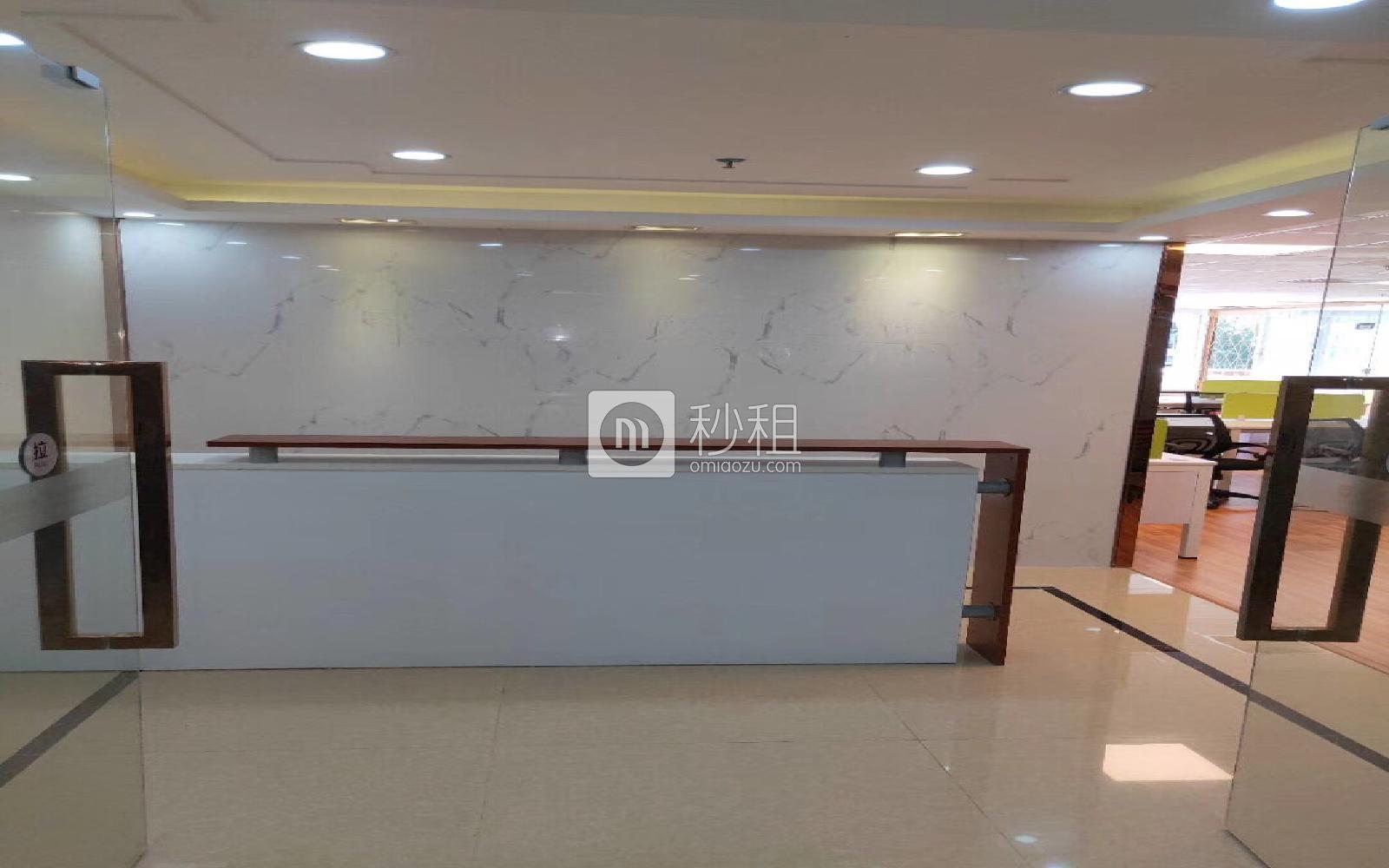 天发大厦写字楼出租354平米精装办公室134元/m².月