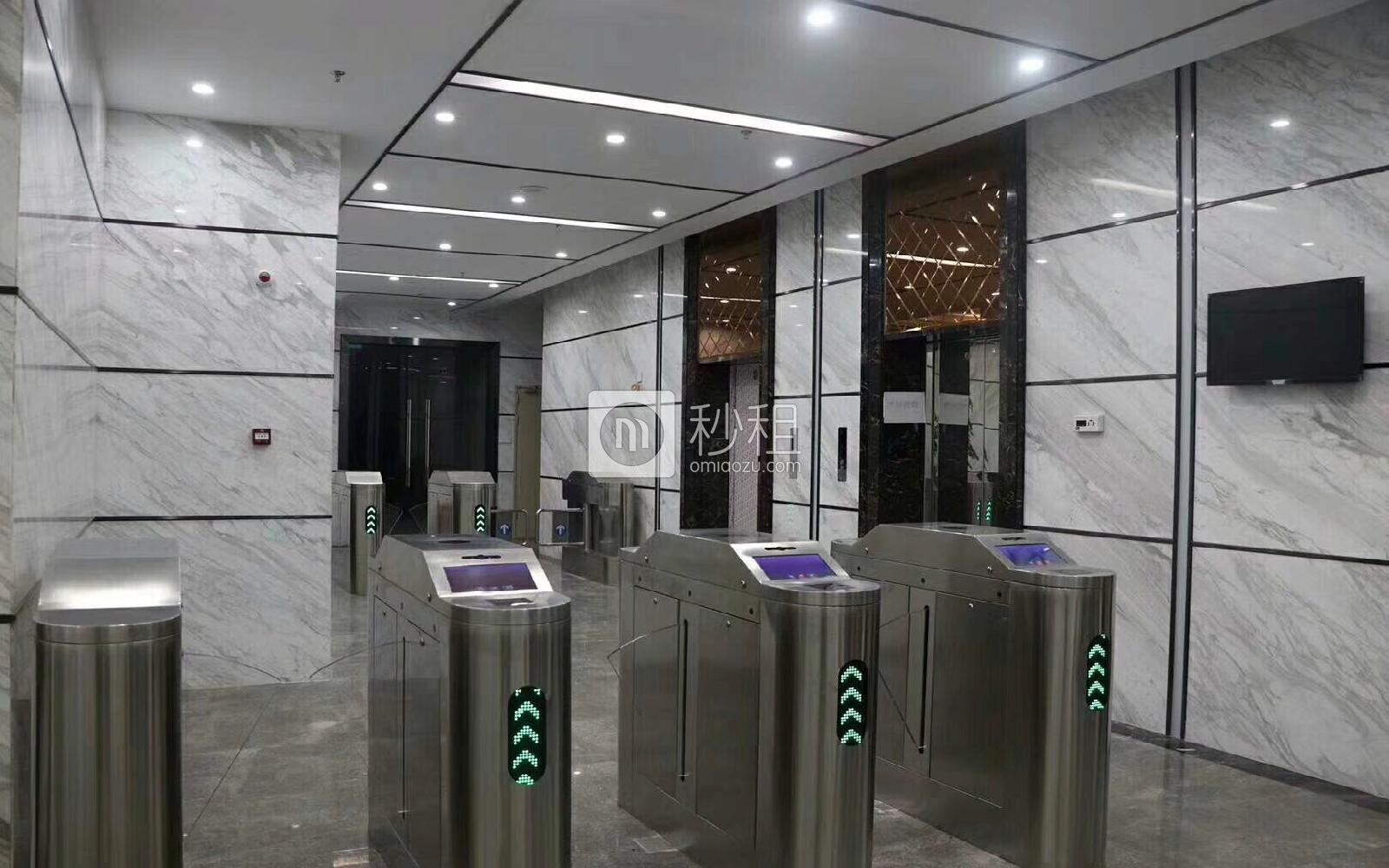 华盛泰科技大厦写字楼出租180平米简装办公室55元/m².月