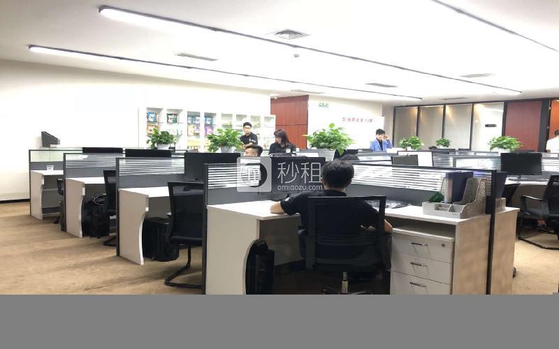 风华科技大厦写字楼出租1575平米精装办公室120元/m².月