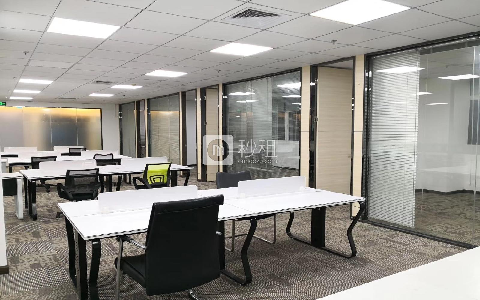 华瀚科技大厦写字楼出租736平米精装办公室40元/m².月