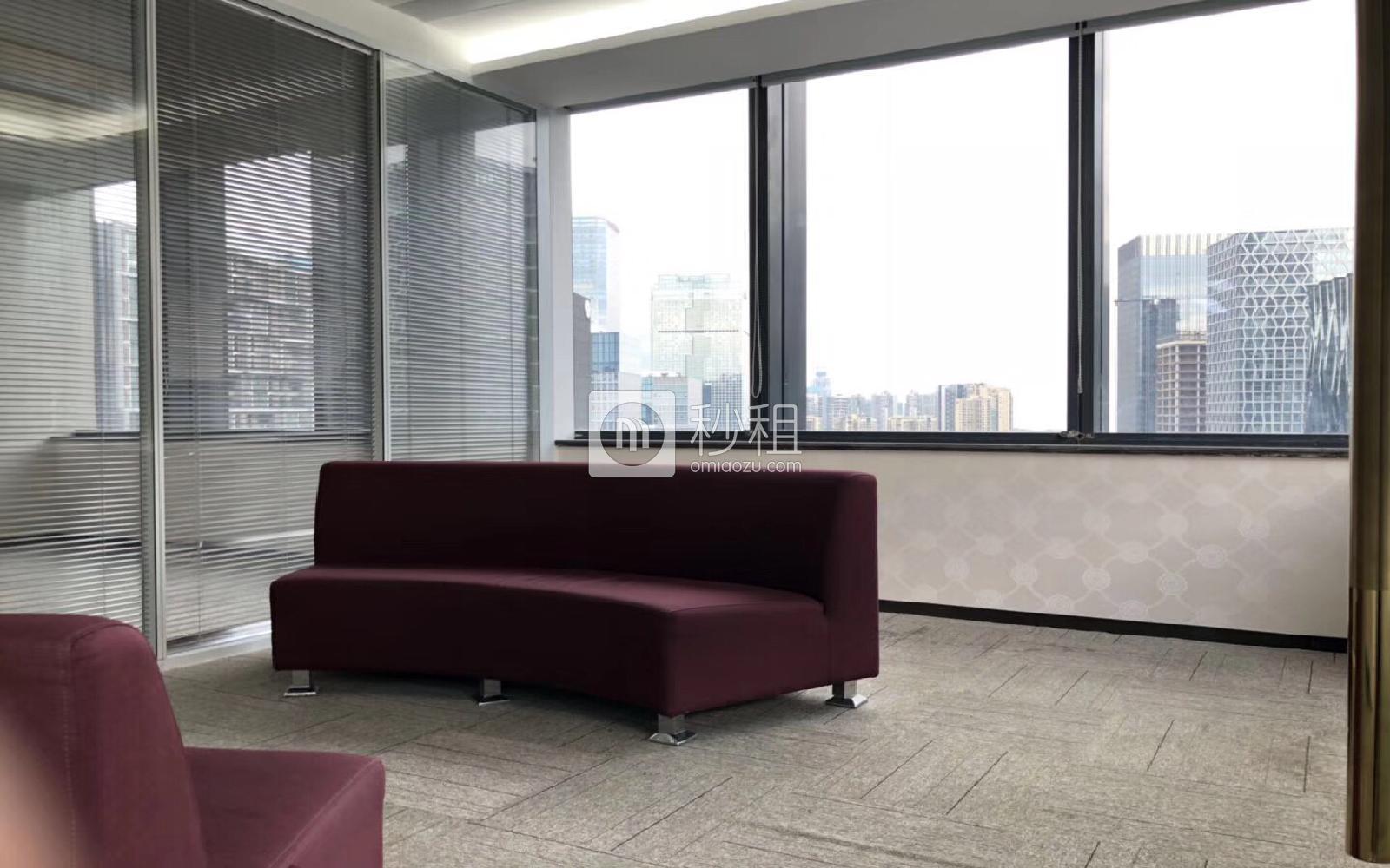 芒果网大厦写字楼出租383平米豪装办公室98元/m².月