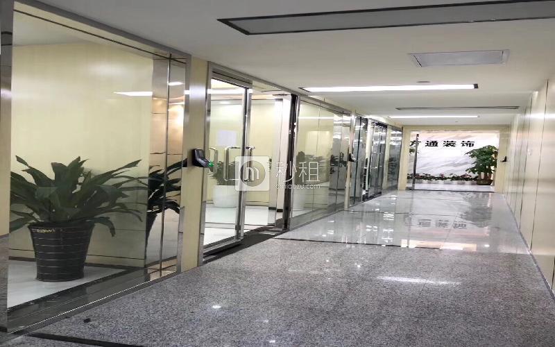 卓越大厦写字楼出租135平米豪装办公室138元/m².月