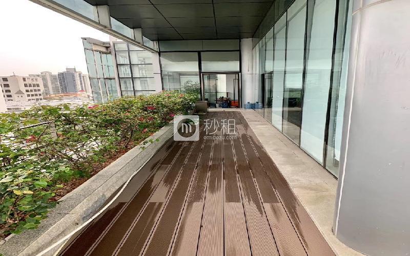 海翔广场写字楼出租537.55平米毛坯办公室145元/m².月