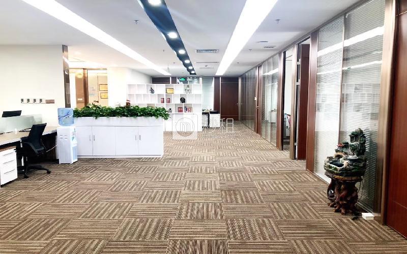 深圳湾科技生态园(二期)写字楼出租1098平米精装办公室85元/m².月