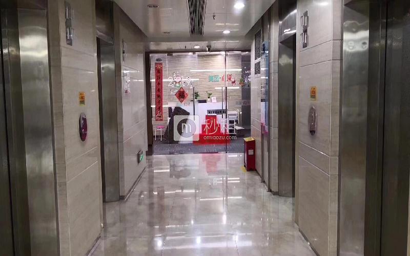 荣超滨海大厦写字楼出租553平米精装办公室108元/m².月