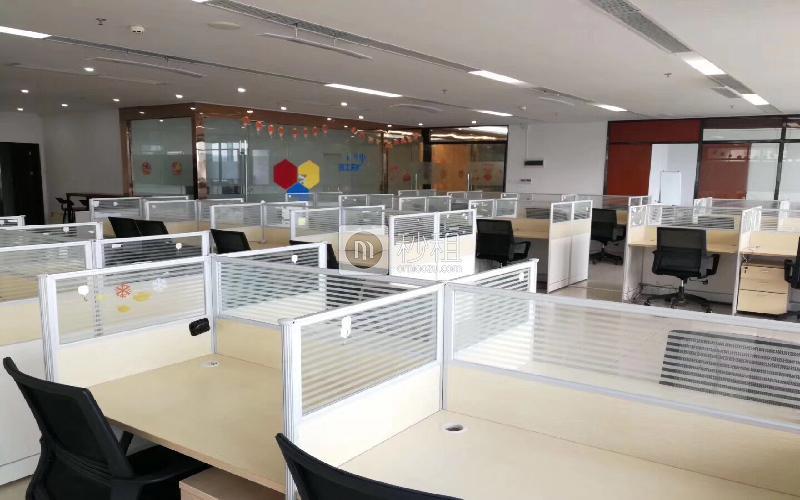 海王银河科技大厦写字楼出租886平米精装办公室108元/m².月