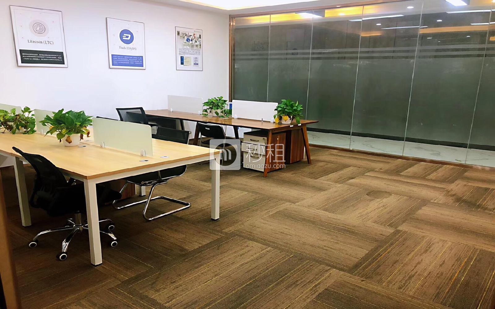 易思博软件大厦写字楼出租223平米豪装办公室98元/m².月