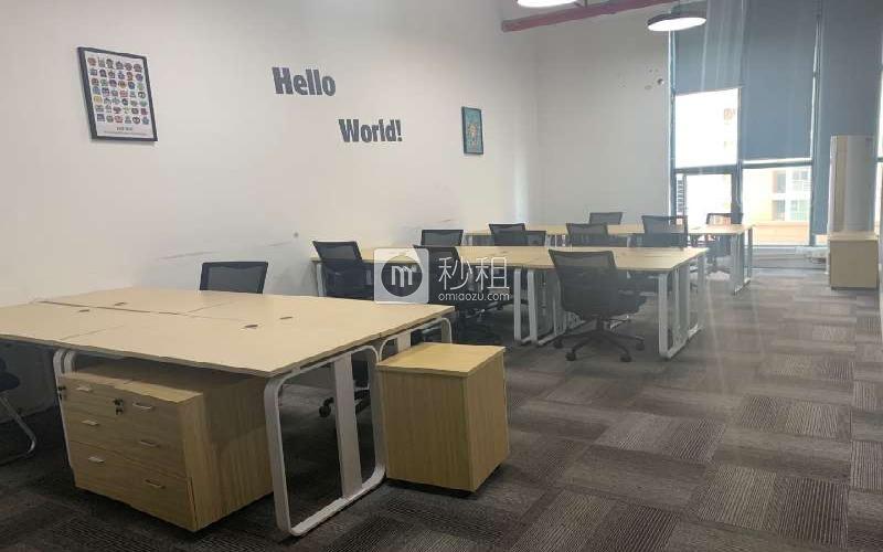 众里创业社区-御景湾写字楼出租220平米豪装办公室60元/m².月
