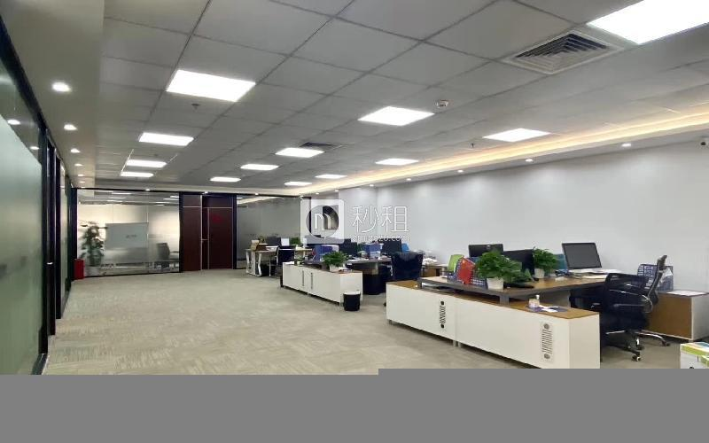 中科智宏大廈寫字樓出租437平米精裝辦公室88元/m2.月