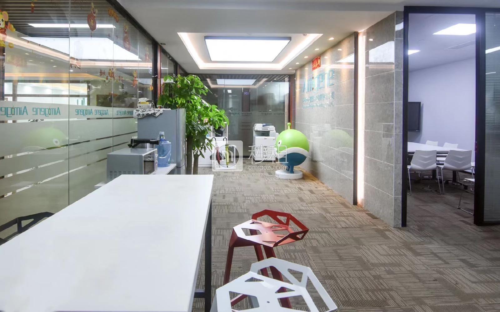 虚拟大学园写字楼出租578平米精装办公室68元/m².月