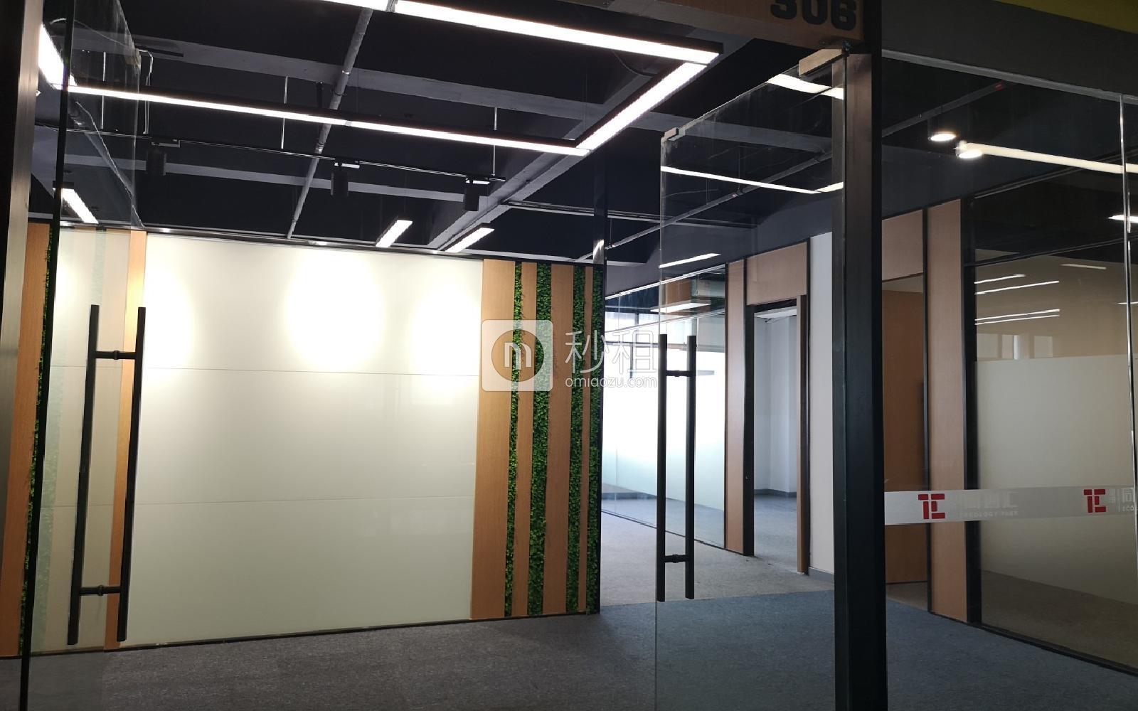 星港同创汇写字楼出租282平米精装办公室53元/m².月